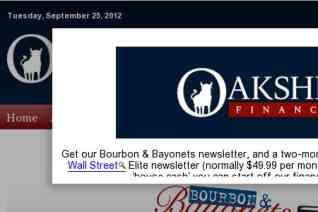 Oakshire Financial reviews and complaints