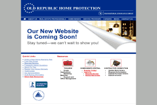 Old Republic Home Protection reviews and complaints