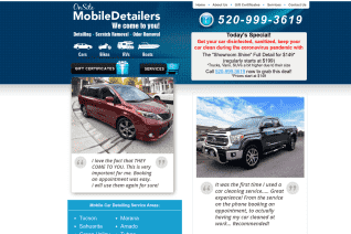On Site Mobile Detailers Tucson reviews and complaints