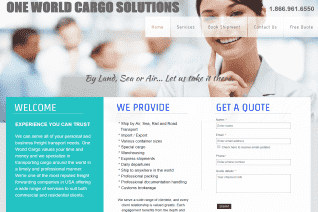 One World Cargo Solutions reviews and complaints