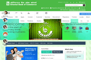 Oriental Bank Of Commerce reviews and complaints