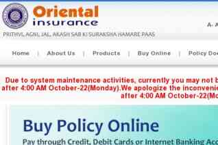 Oriental Insurance reviews and complaints
