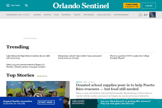 Orlando Sentinel reviews and complaints