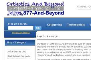 Orthotics And Beyond reviews and complaints