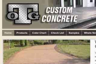OTG Custom Concrete reviews and complaints