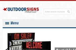 Outdoor Signs America reviews and complaints