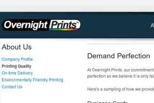 Overnight Prints reviews and complaints