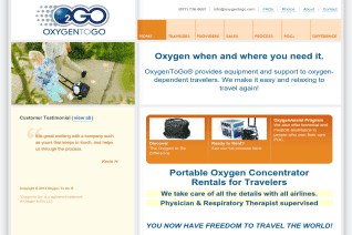 Oxygen to Go reviews and complaints