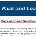 Pack And Load Services