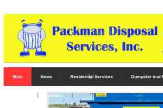 Packman Disposal Services reviews and complaints