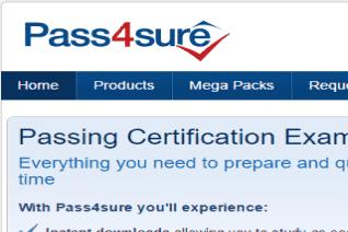 Pass4sure reviews and complaints