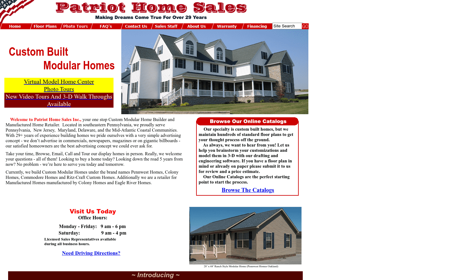 Patriot Homes reviews and complaints