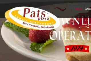 Pats Pizzeria Family Restaurant reviews and complaints