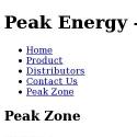 Peak Energy Distributors