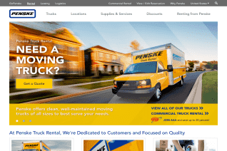 Penske Truck Rental reviews and complaints