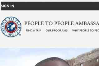 People to People Ambassador Program reviews and complaints