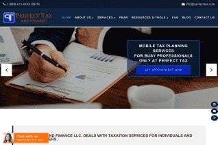 Perfect Tax and Finance reviews and complaints