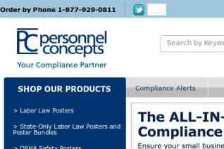 Personnel Concepts reviews and complaints