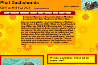Phat Dachshunds reviews and complaints