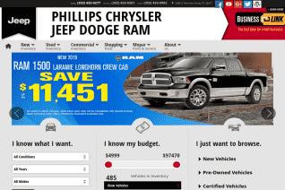 Phillips Chrysler Jeep Dodge Ram reviews and complaints