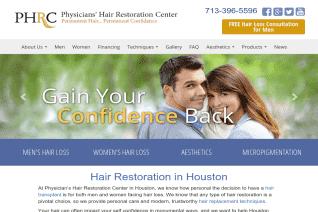 Physicians Hair Restoration Center reviews and complaints
