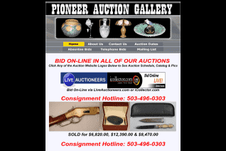 Pioneer Auction Gallery reviews and complaints