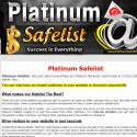 Platinum Safelist reviews and complaints