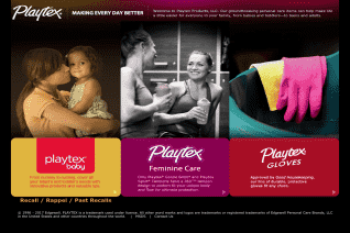 Playtex Products reviews and complaints