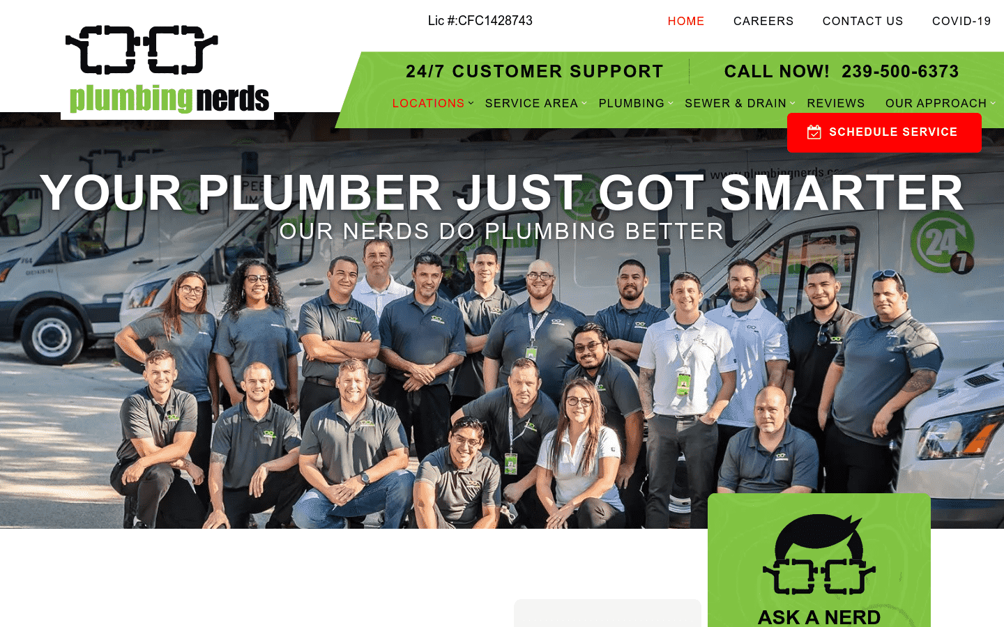 Plumbing Nerds reviews and complaints
