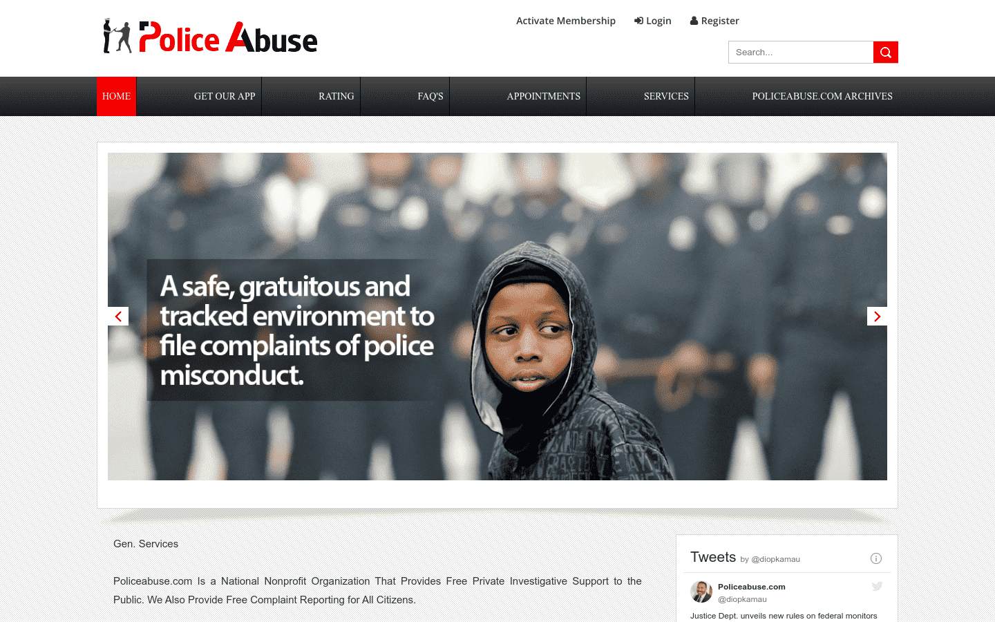 PoliceAbuse reviews and complaints