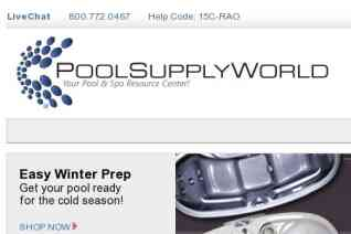 PoolSupply World reviews and complaints