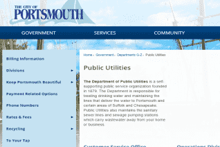 Portsmouth Public Utilities reviews and complaints