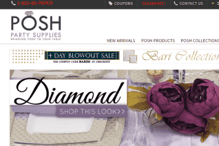 Posh Party Supplies reviews and complaints
