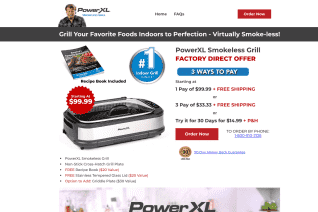PowerXL Smokeless Grill reviews and complaints
