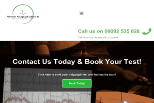 Premier Polygraph Services of United Kingdom reviews and complaints