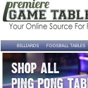 Premiere Game Tables