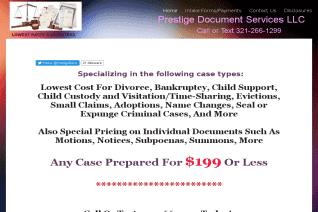 Prestige Document Services reviews and complaints