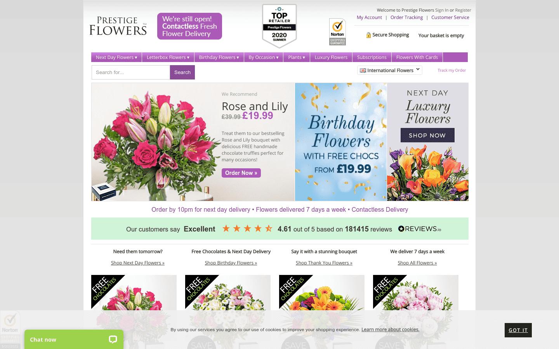 Prestige Flowers reviews and complaints