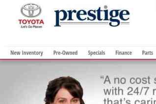 Prestige Toyota reviews and complaints