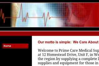 Prime Care Medical Supplies reviews and complaints