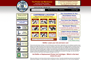 Printer Ink Warehouse reviews and complaints