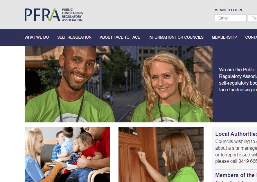 Public Fundraising Regulatory Association reviews and complaints