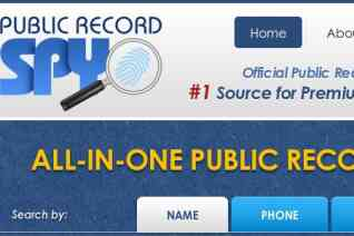 Public Record Spy reviews and complaints