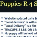 Puppies R 4 Sale reviews and complaints