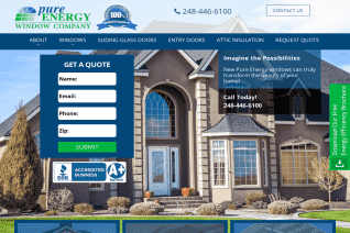 Pure Energy Window Company reviews and complaints