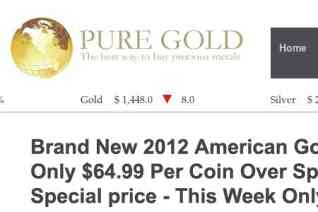 Pure Gold Global reviews and complaints