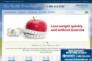 Pure Health Formulas reviews and complaints
