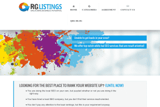 Qrg Listings reviews and complaints