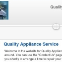 Quality Appliance Services