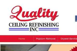 Quality Ceiling Refinishing reviews and complaints
